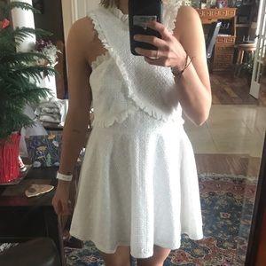 White dress bought on ASOS